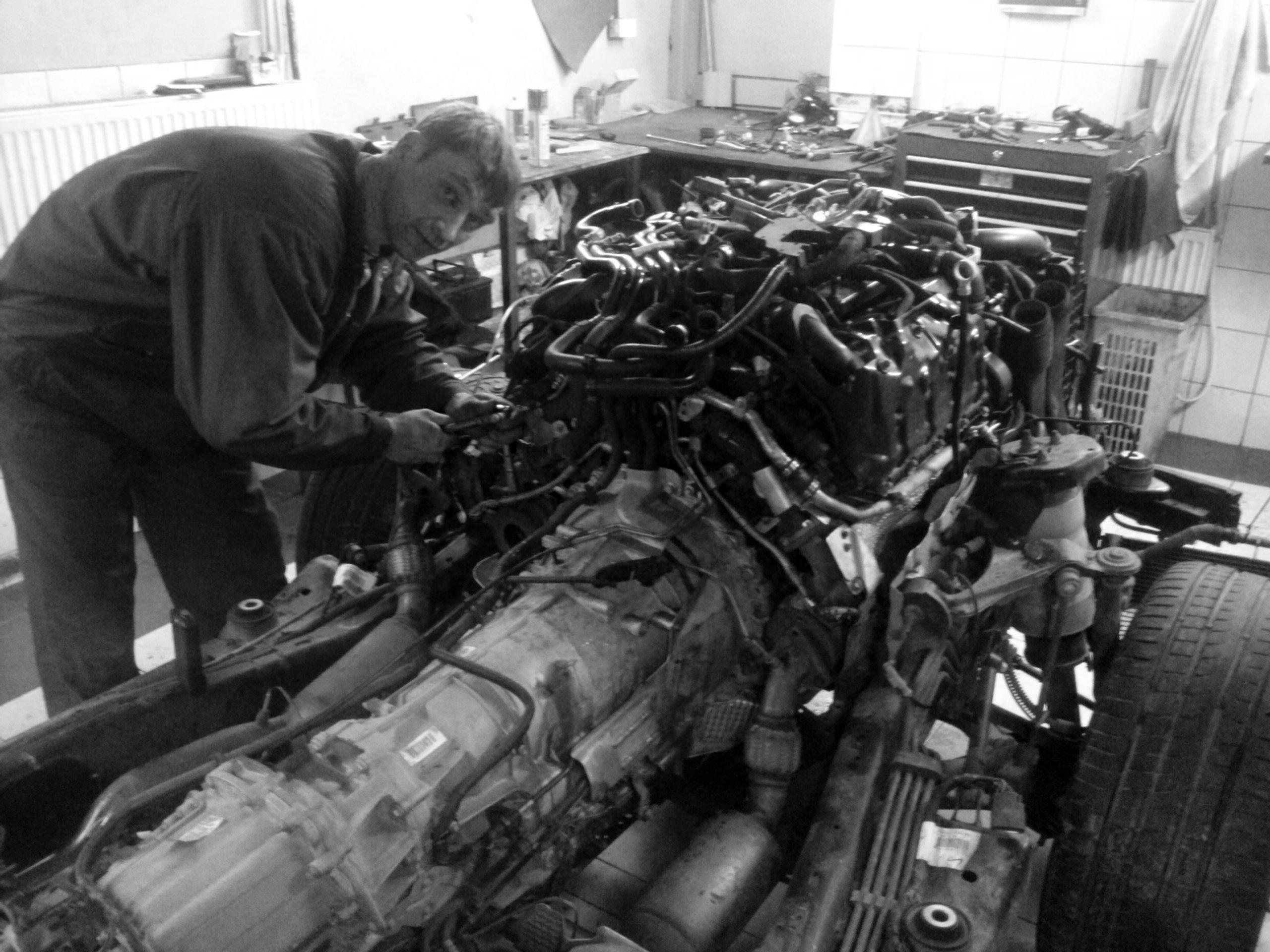 variklių remontas